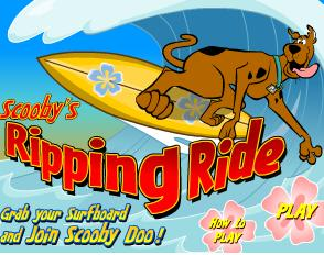 Scooby Doo Ripping Ride
