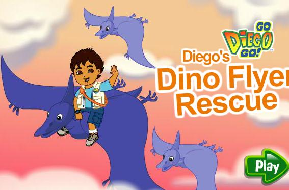 Diego's Dino Flyer Rescue