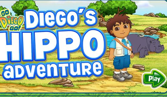 Diego Hippo Adventure