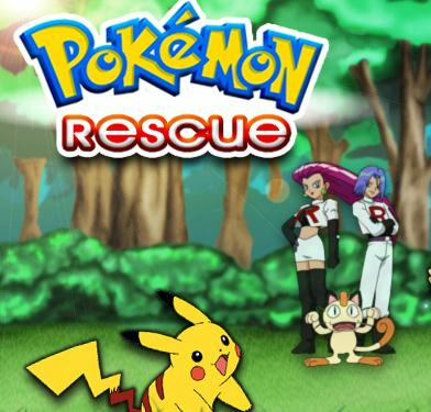 Pokemon Rescue Game