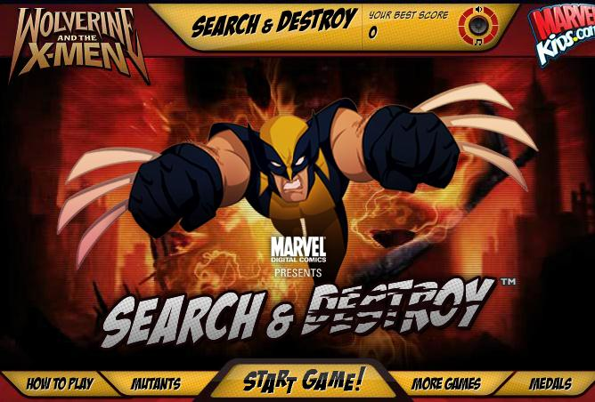 X-Men Wolverine Search And Destroy