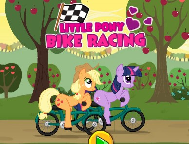 Little Pony Bike Racing Game