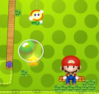 Mario Cut Rope Game