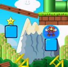 Mario Bubble Puzzle Game