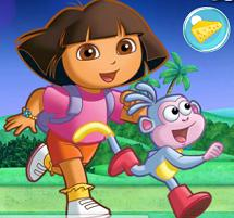Dora Sweet Bubble Game