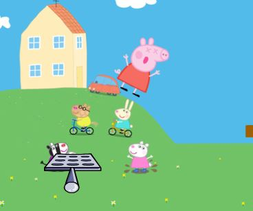 Peppa Pig Bounce Game