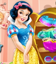 Snow White Room Cleaning